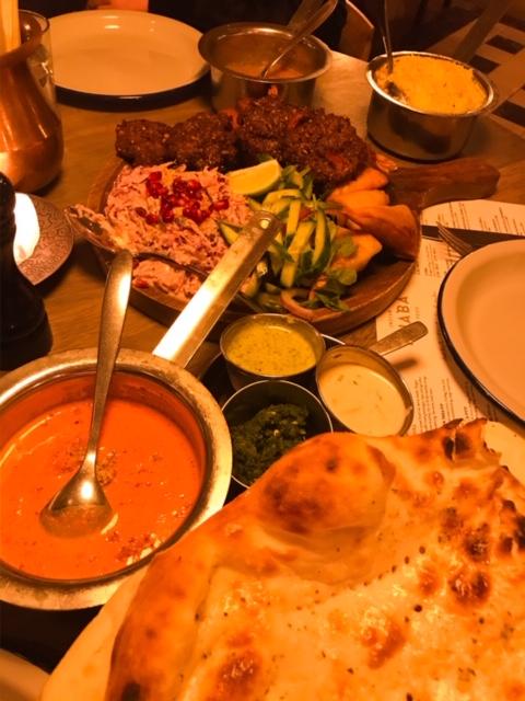 At spise indisk på Falster